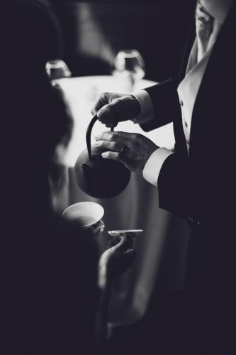 Cérémonie du thé - mariage franco-chinois